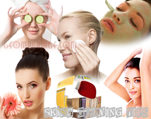 Skin Glowing Tips Remedies For Women and Men Homemade
