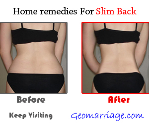 Make Your Back Slimmer