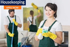 Housekeeping Jobs in UK